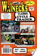 WALNECK'S CLASSIC CYCLE TRADER, FEBRUARY 1998