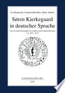 Søren Kierkegaard in deutscher Sprache