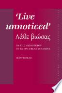 Live Unnoticed