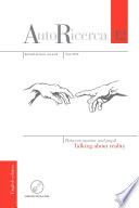 AutoRicerca - Volume 12, Year 2016 - Between mentor and pupil. Talking about reality