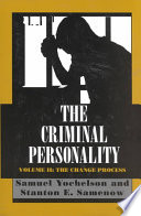 The Criminal Personality  The change process