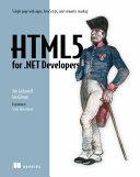 HTML5 for  NET Developers