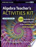 Algebra Teacher s Activities Kit