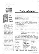 The Intercollegian Book PDF