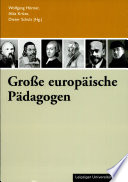 Große europäische Pädagogen