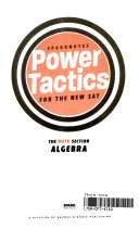 SAT Math  Algebra  SparkNotes Power Tactics