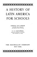A History of Latin America for Schools