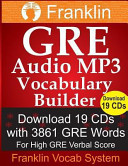 Franklin GRE Audio MP3 Vocabulary Builder