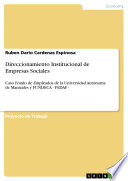 Direccionamiento Institucional de Empresas Sociales