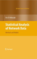 Statistical Analysis of Network Data