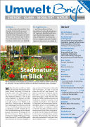 Zeitschrift UmweltBriefe Heft Juni 2016