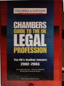chambers guide to the uk legal profession