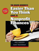 The Board Member s Easier than you think Guide to Nonprofit Finances