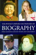 The Pocket Oxford Dictionary of Biography