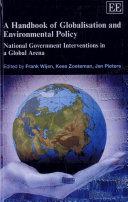 A Handbook of Globalisation and Environmental Policy