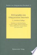 Bibliographie zum Altägyptischen Totenbuch