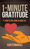1 Minute Gratitude