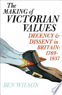 Book The Making of Victorian Values