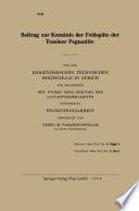 Beitrag zur Kenntnis der Feldspäte der Tessiner Pegmatite