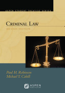 Aspen Student Treatise for Criminal Law
