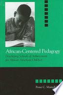 African Centered Pedagogy