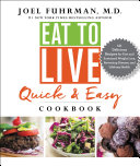 download ebook eat to live quick and easy cookbook pdf epub