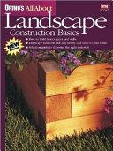 Landscape Construction Basics