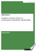 """Parallelen zwischen Ulrich von Liechtensteins """"Frauenbuch"""" und dem Islam"""