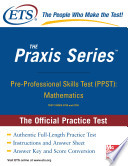 Pre Professional Skills Test  Mathematics  Practice Test