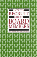 How to Recruit Great Board Members