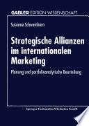 Strategische Allianzen im internationalen Marketing