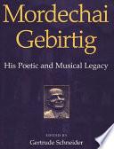 Mordecai Gebirtig