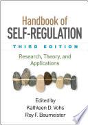 Handbook Of Self Regulation Third Edition