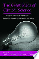 The Great Ideas of Clinical Science