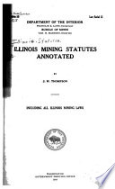 Illinois Mining Statutes Annotated