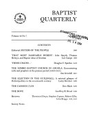 The Baptist Quarterly