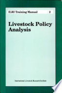 Livestock Policy Analysis