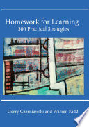 Homework For Learning  300 Practical Strategies