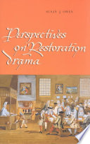 Perspectives on Restoration Drama