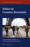 Ethics in Counter-Terrorism