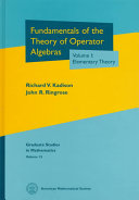 Fundamentals of the Theory of Operator Algebras: Elementary theory