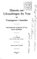 Historie om udvandringen fra Voss og vossingerne i Amerika