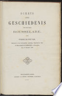 Schets eener geschiedenis van de stad Rousselare