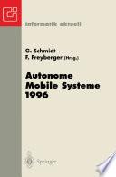 Autonome Mobile Systeme 1996