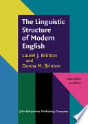 The Linguistic Structure of Modern English