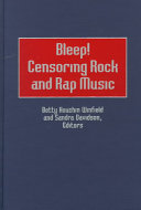 Bleep  Censoring Rock and Rap Music