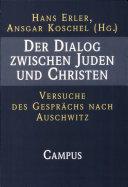 Der Dialog zwischen Juden und Christen