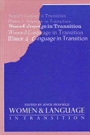 Women and Language in Transition