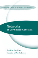 Networks as Connected Contracts