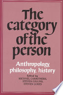 The Category of the Person